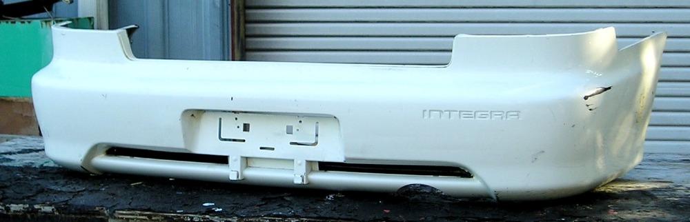 Acura Integra Dr Sedan Rear Bumper Cover BUMPER MEGASTORE - Acura integra rear bumper