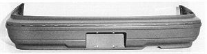 Picture of 1986-1990 Acura Legend 2dr coupe Rear Bumper Cover