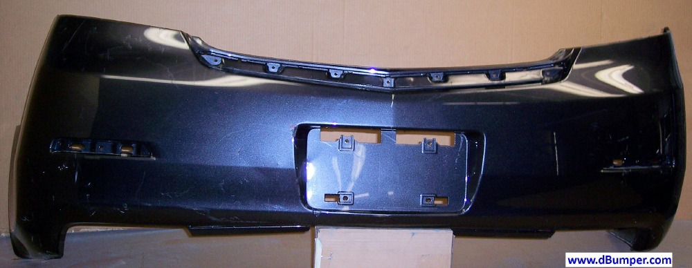 Acura TL Wo Parking Assist Rear Bumper Cover BUMPER - Acura tl rear bumper