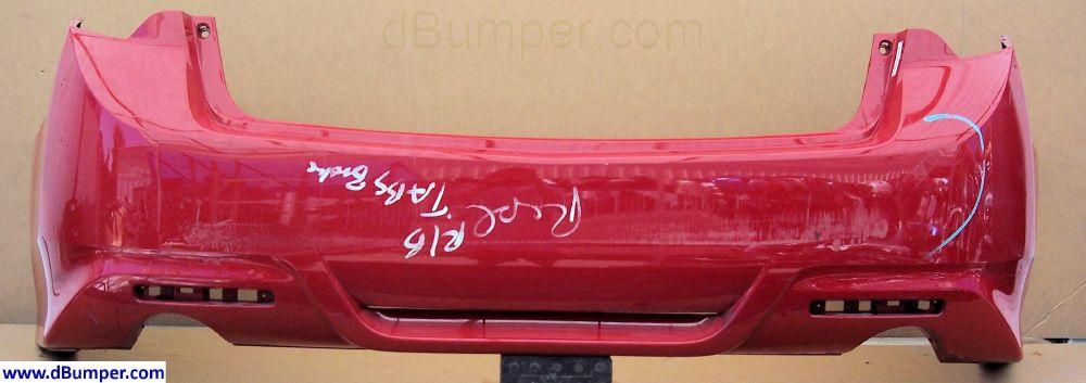 Acura TSX SPECIAL EDITION Rear Bumper Cover BUMPER MEGASTORE - Acura tsx bumper