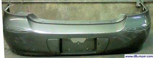 Picture of 2005-2009 Buick Lacrosse CX|CXL|CXS; w/Chrome Pkg; w/o Object Sensor Rear Bumper Cover