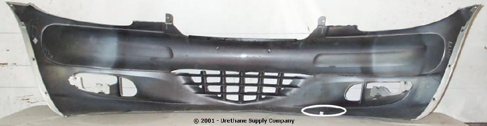 Pt Cruiser Bumpers : Chrysler pt cruiser front bumper cover