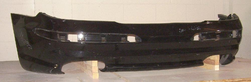 2003 2008 mercedes benz sl55 rear bumper cover bumper for Mercedes benz bumper cover