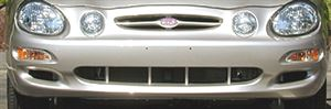 Picture of 2000-2001 Kia Spectra 4dr hatchback Front Bumper Cover