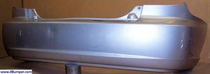 Picture of 2002 Kia Rio 4dr hatchback; Cinco Rear Bumper Cover
