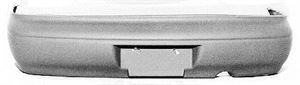 Picture of 1995-1997 Kia Sephia LS/GS models; from 10/94 Rear Bumper Cover
