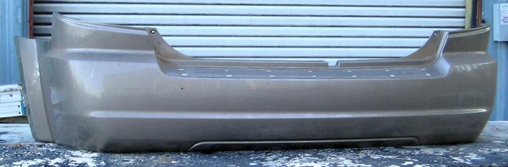 2003 2006 Kia Sorento Ex W Fender Flares Rear Bumper Cover Bumper Megastore