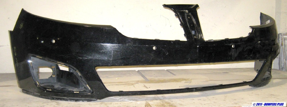 2009-2012 Lincoln MKS w/Front Object Sensors Front Bumper ...