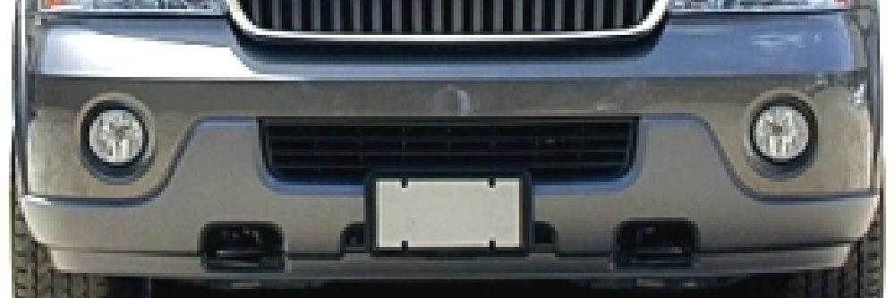 2003 2004 Lincoln Navigator Front Bumper Cover Bumper