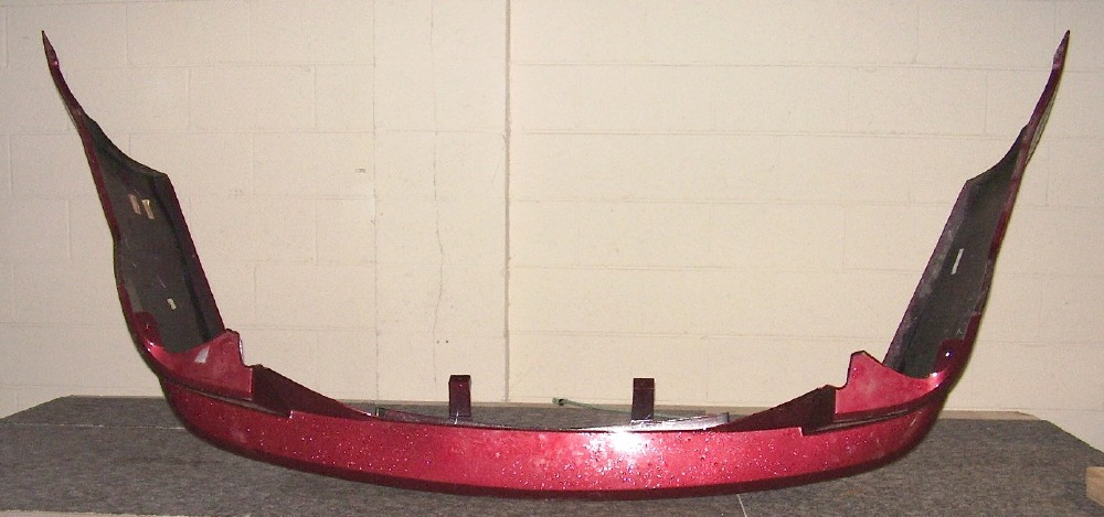 Lincoln FORD OEM 07-09 MKZ Rear Bumper-Side Support Right 6H6Z17D948A