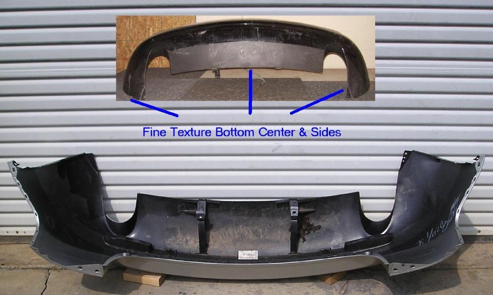 2007 2009 mazda cx 7 rear bumper cover bumper megastore. Black Bedroom Furniture Sets. Home Design Ideas