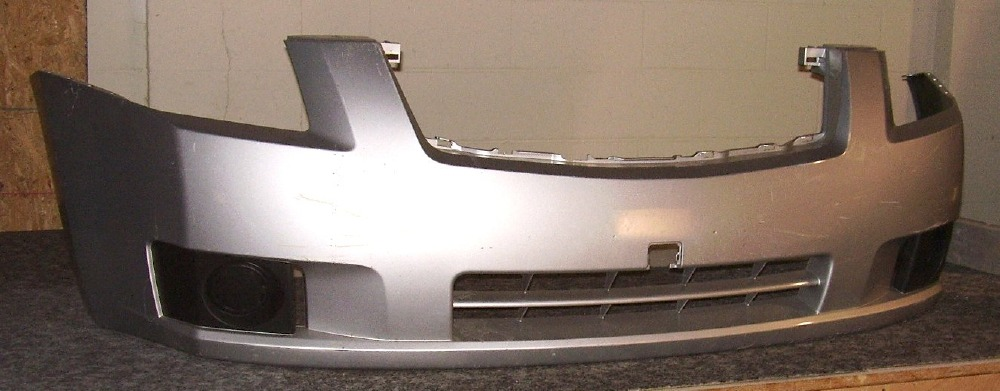 2007-2009 Nissan Sentra w/o fog lamps Front Bumper Cover ...