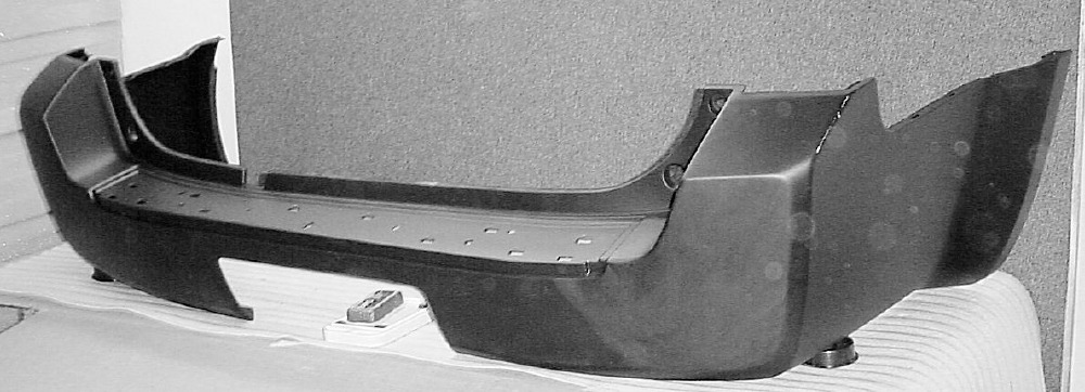 2005 2007 Nissan Pathfinder From 4 06 Rear Bumper Cover