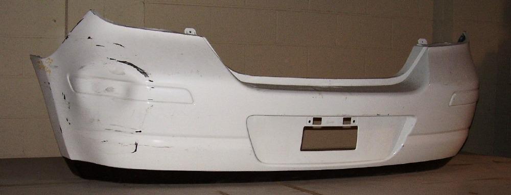 2007 2012 Nissan Versa H B W O Sport Pkg Rear Bumper