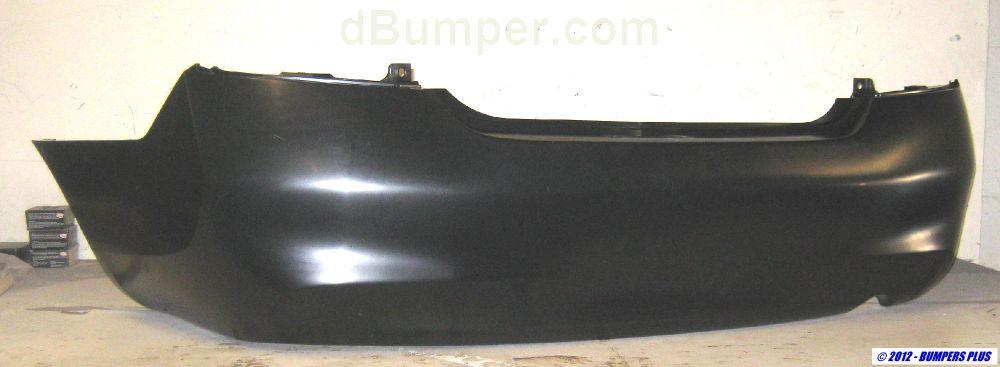 2012 2014 Nissan Versa Sedan Rear Bumper Cover Bumper