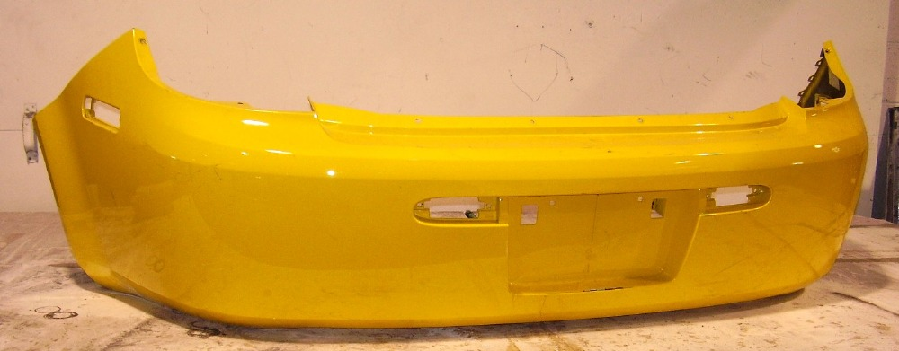 2007 2009 Pontiac G5 Base Model Rear Bumper Cover Bumper