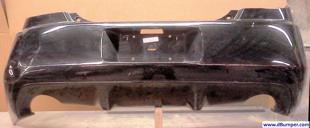 2008 2009 Pontiac G6 Gxp Sedan Rear Bumper Cover Bumper