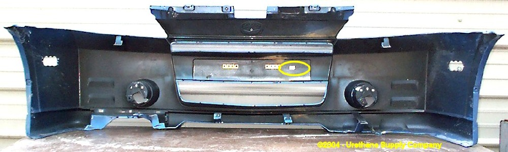 Suzuki Aerio Rear Bumper Cover