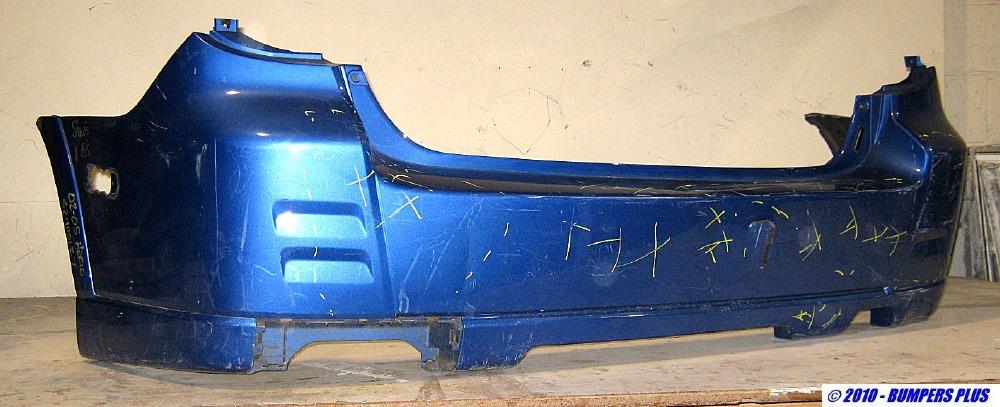2002 2005 Suzuki Aerio 4dr Hatchback Rear Bumper Cover