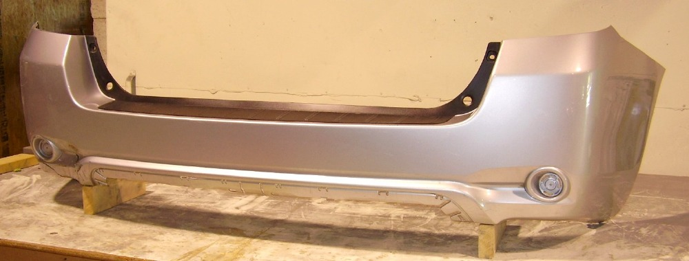 2008 2010 Toyota Highlander Hybrid Upper Rear Bumper Cover