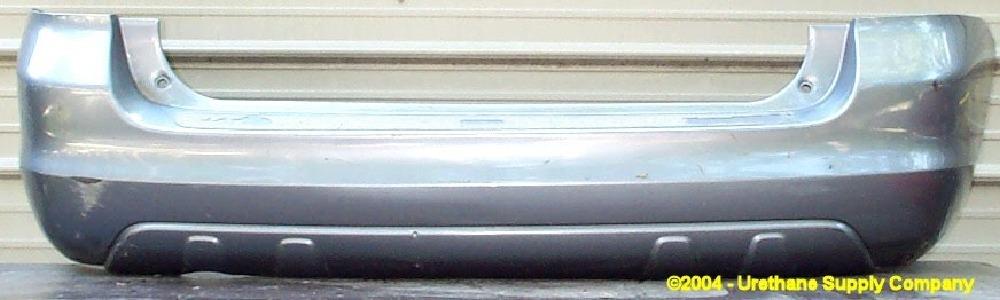 2003 2008 Toyota Matrix W O Spoiler Rear Bumper Cover