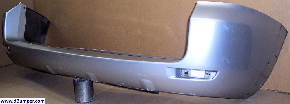2006 2012 toyota rav4 w wheel opening flares rear bumper cover bumper megastore. Black Bedroom Furniture Sets. Home Design Ideas