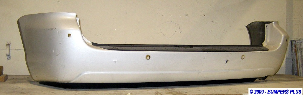 2004 2010 Toyota Sienna W Park Sensor Rear Bumper Cover