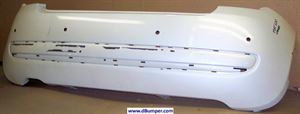 Picture of 2012 Fiat 500 POP|LOUNGE; w/Rear Object Sensors Rear Bumper Cover