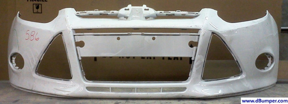 2012 2013 Ford Focus Sedan Front Bumper Cover Bumper