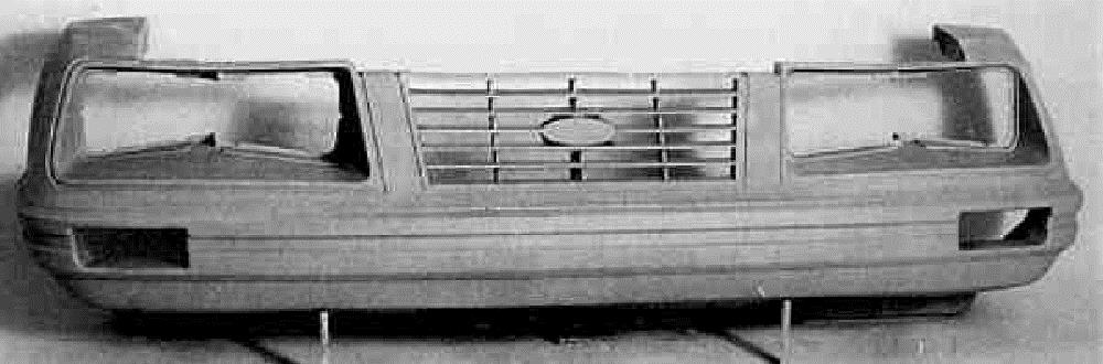 1984 Ford Mustang GT Front Bumper Cover
