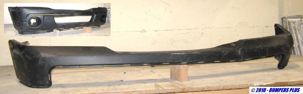 2006 2011 ford ranger w o stx model black front bumper. Black Bedroom Furniture Sets. Home Design Ideas