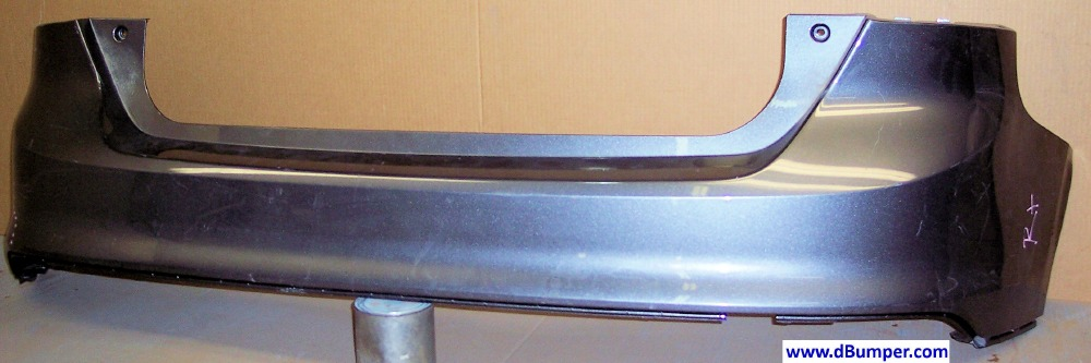 2012 2013 ford focus h b rear bumper cover bumper megastore. Black Bedroom Furniture Sets. Home Design Ideas