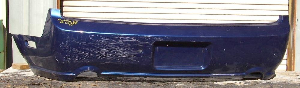 2005 2009 ford mustang gt rear bumper cover bumper megastore. Black Bedroom Furniture Sets. Home Design Ideas