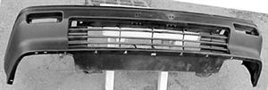 Picture of 1984-1987 Honda Civic CRX HF/DX Front Bumper Cover