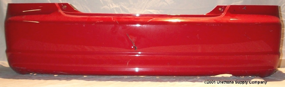 2001 2003 Honda Civic 2dr Coupe Rear Bumper Cover Bumper
