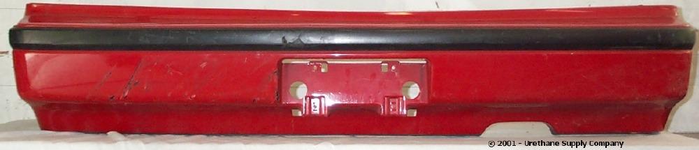 1990 1991 honda prelude si rear bumper cover bumper megastore 1990 1991 honda prelude si rear bumper cover bumper megastore