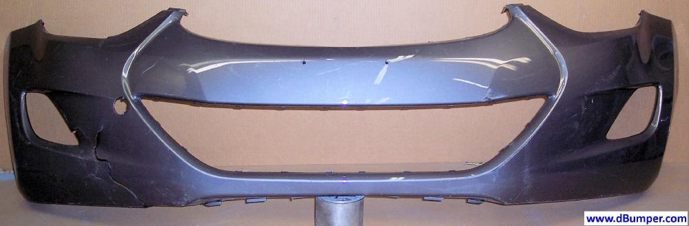 Hyundai Elantra Coupe >> 2011-2013 Hyundai Elantra Sedan; USA Built Front Bumper Cover -BUMPER MEGASTORE