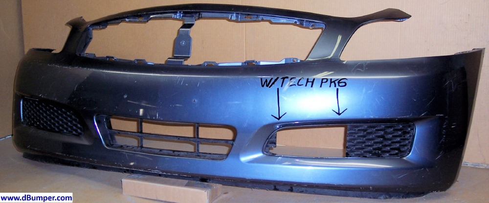2007 2008 Infiniti G35 Sedan Wo Sport Pkg Wtechnology Pkg Front