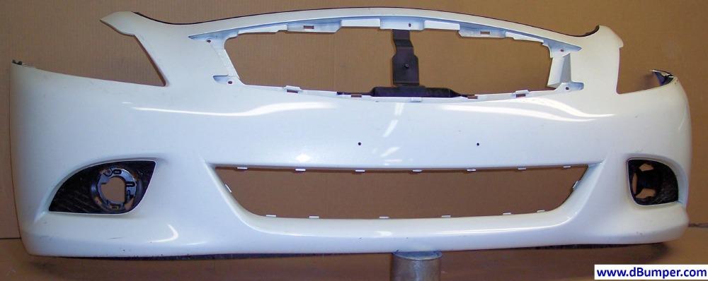 2010 2013 Infiniti G37 Base Journey Sedan Front Bumper Cover Bumper Megastore