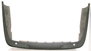 Picture of 1998-2003 Jaguar XJ6/XJ12/XJR/XJ8/VANDEN Plas w/park sensor Rear Bumper Cover