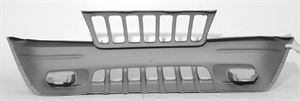 Picture of 1999-2000 Jeep Cherokee/Wagoneer (full Size) Grand Cherokee Laredo; w/grille Front Bumper Cover