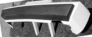 Picture of 1984-1989 Dodge Conquest Rear Bumper Cover
