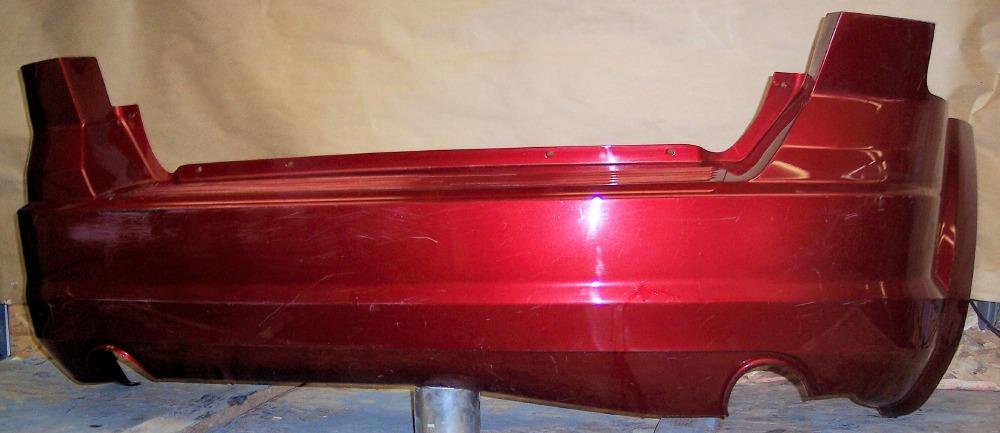 dodge journey bumper rear 2009 sxt sensor fascia se pcs exhaust parking single bumpers oem number