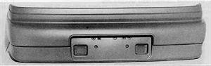 Picture of 1990-1991 Eagle Talon Special trim Rear Bumper Cover