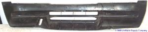 Picture of 1989-1997 Geo Tracker flat black (non-paintable) Front Bumper Cover